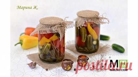 Маринованные овощи - ассорти