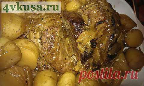 Свинина запеченная в соусе Наршараб | 4vkusa.ru