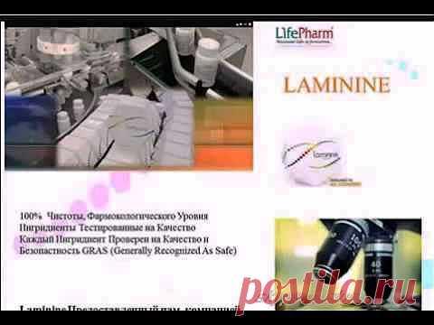 ▶ a webinar from 18.05.13g. The doctor I. Kovalevskaya about laminin - YouTube
