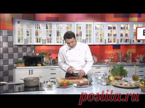 Теплый итальянский салат.  http://zakupka.tv - YouTube