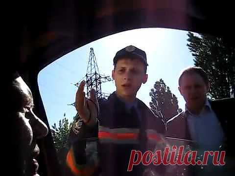 ¡▶ Torpe y todavía tupee! =) Dos neadekvata del POLICÍA de tráfico - YouTube