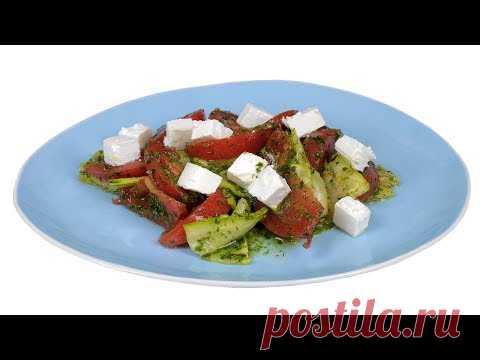 Салат из кабачков под зеленой заправкой. Без майонеза. Из подборки  Мо     Рецепты для похудения   Постила e849cad1382
