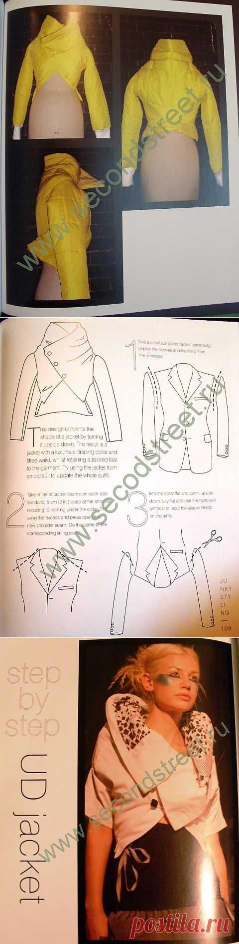 Кастомайзинг, переделка куртки / Курточные переделки / Модный сайт о стильной переделке одежды и интерьера