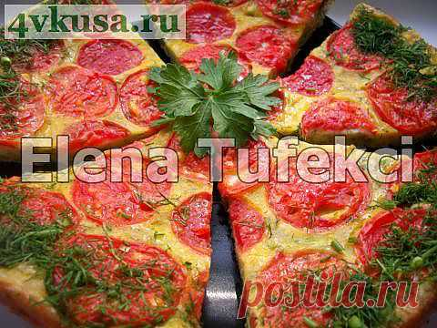 «Кабачковая пицца» | 4vkusa.ru
