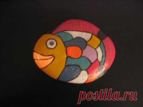 rockpaintingii: View Photo:Colourful Fish