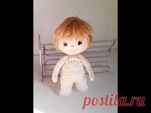 19 Tutorial cuerpo muñeca de tela. A master class a doll body of fabric - YouTube