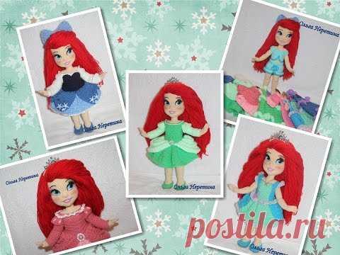 Фото куклы Ариэль (связана крючком) (The Little Mermaid)