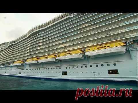 Круизный лайнер Оазис морей. Oasis of the Seas. - YouTube