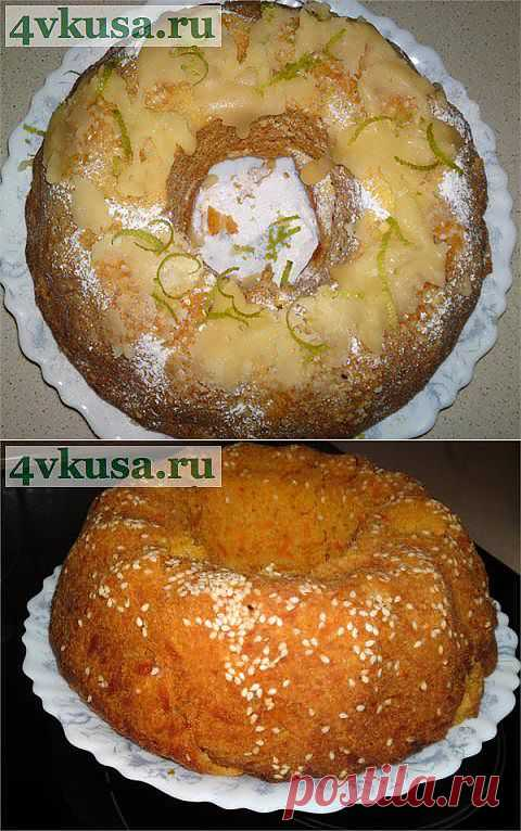 Кекс морковный быстрый, но шикарный   4vkusa.ru