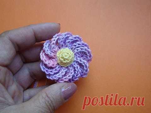 Цветок со спиральными 12 лепестками.