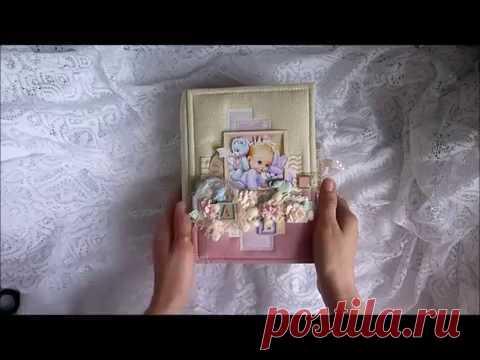 видео обзор альбома для девочки для фотографий первого года