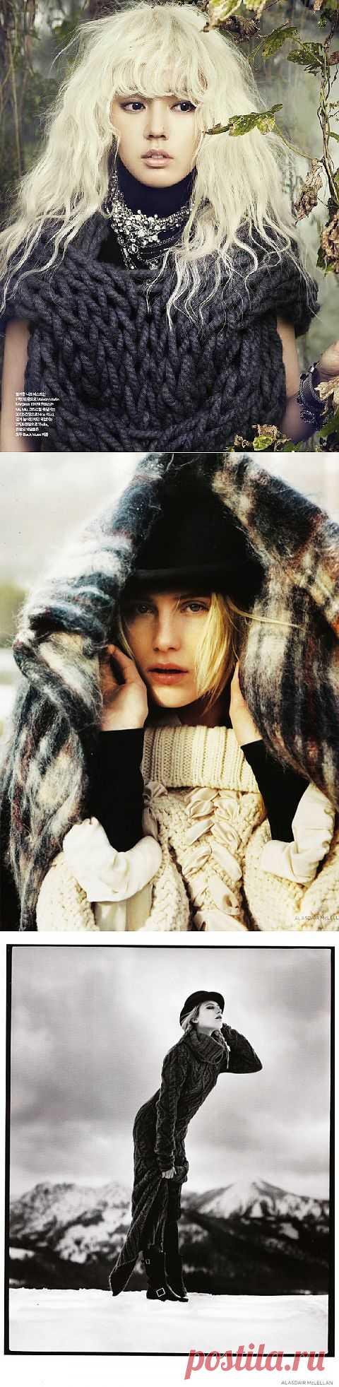 Уютные вещи / Вязание / Модный сайт о стильной переделке одежды и интерьера
