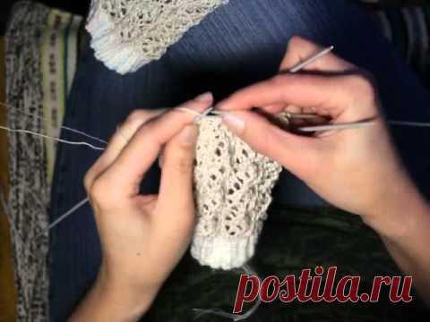 Вязание летних носков