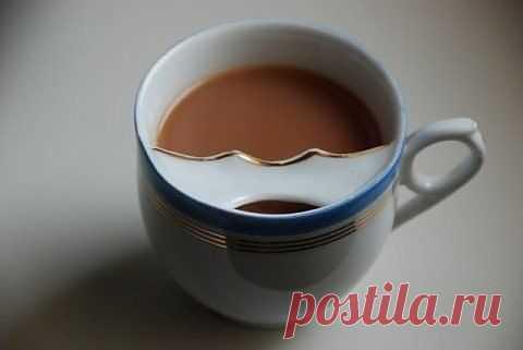 Чашка с защитой для усов / Лайфхаки / Модный сайт о стильной переделке одежды и интерьера