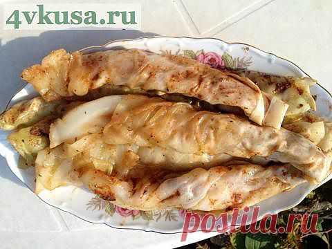 Острая закуска из капусты. | 4vkusa.ru