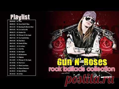 Best songs of Guns N' Roses - Guns N' Roses Greatest Hits Playlist