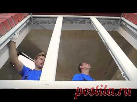 Как установить пластиковое окно? Видео