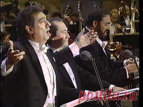The 3 Tenors O Sole Mio 1994 - YouTube