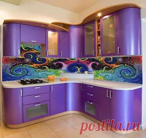 Дизайн комнаты. Мозаичное искусство