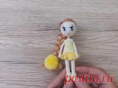 Каркасная кукла амигуруми: Ромашка от Katkarmela