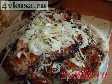 Шашлык из свинины | 4vkusa.ru