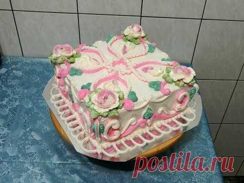 DECORATION of CAKES - the Square cake of \