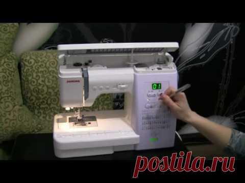 Швейная машинка и инструменты для шитья