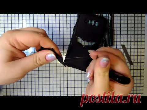 DIY Тюнинг чехла для телефона +Брелок!Не скрапбукинг;)