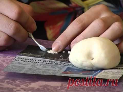 Авксентьева Алена. Необычная лепка из соленого теста.