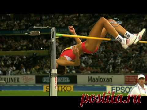 Blanka Vlasic, world champ again - from Universal Sports