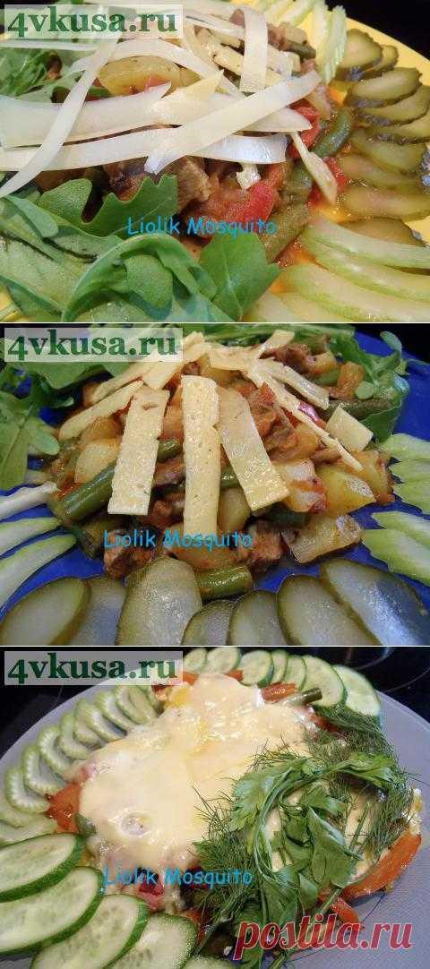 Операция «Ликвидация» или баранина с овощами. | 4vkusa.ru