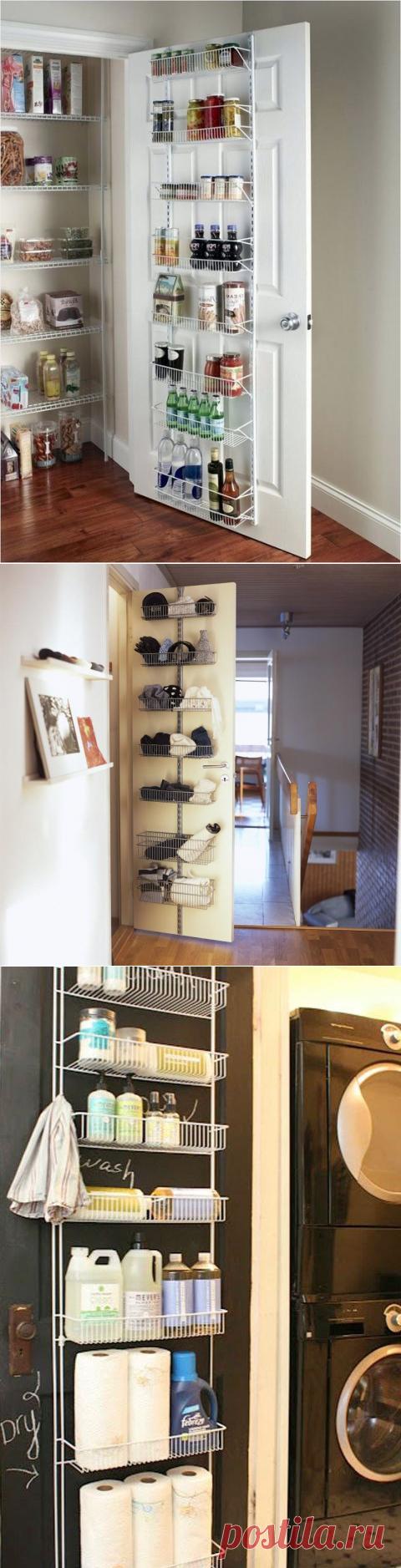 Использование дверей с пользой: идеи организации пространства — Сделай сам, идеи для творчества - DIY Ideas
