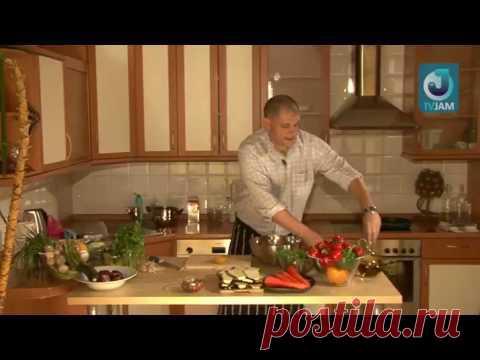 Быть Сержем Марковичем: Жареные баклажаны с зеленью - YouTube