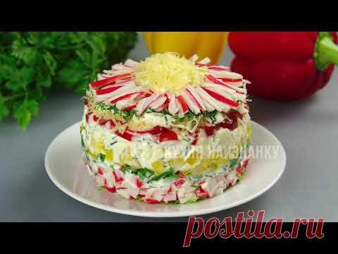 5 обалденных салатов + 6 гениальных украшений из ОГУРЦОВ!