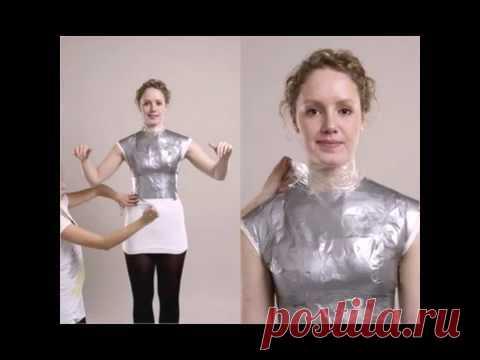 How to make a mannequin her figure. Как сделать манекен своей фигуре.