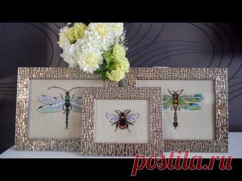 66 Оформленные стрекозы и шмель от Nora Corbett /Mirabilia