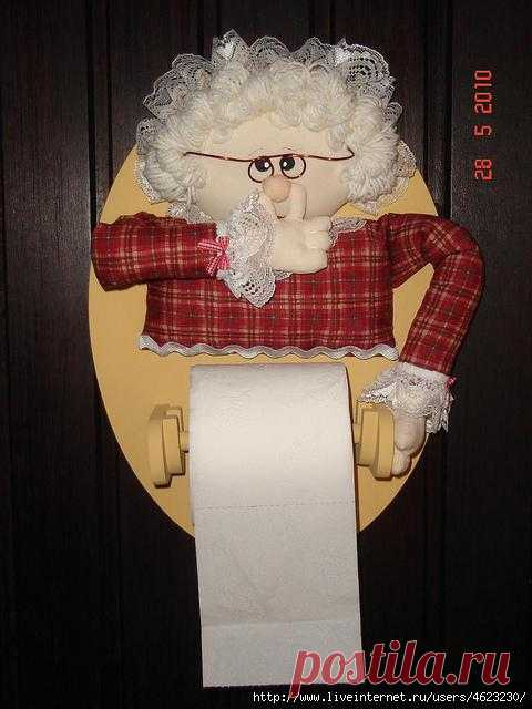 Органайзеры для туалетной бумаги.