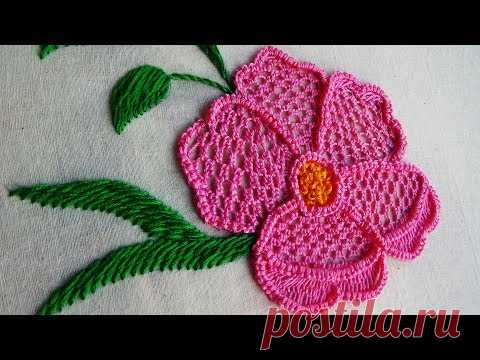 Hand Embroidery: Lace Embroidery