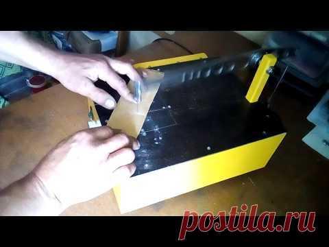 De mesa improvisado lobzikovyy la máquina la parte 2 (terminación)