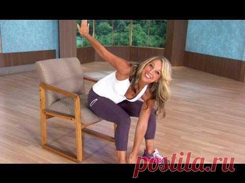 5 кресельных упражнений, которые уменьшат ваш живот, в то время, как вы сидите!