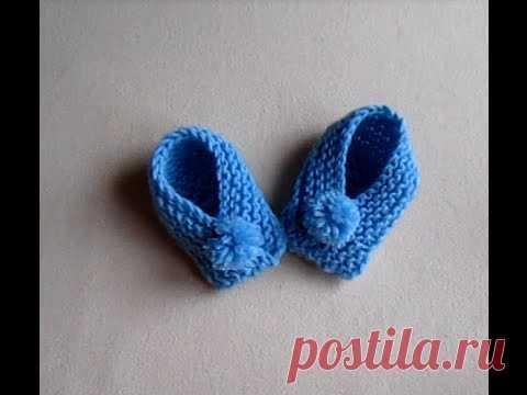 ВЯЗАНИЕ ДЛЯ НАЧИНАЮЩИХ! ЛЕГКО И ПРОСТО ЗА ЧАС СВЯЗАТЬ ПИНЕТКИ!Knitting!