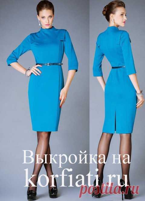 Платье своими руками - выкройка от Анастасии Корфиати