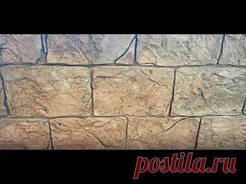 Греческий ДЕКОРАТИВНЫЙ камень из ПЛИТОЧНОГО клея