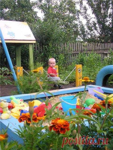 Идеи для дачи. Детские площадки на даче.