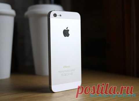 iPhone 5S может получить сканер отпечатков пальцев