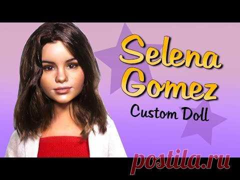 DIY Selena Gomez Custom Doll Barbie Repaint Tutorial
