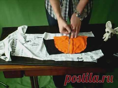 Видео от «Второй улицы» / Футболки DIY / Модный сайт о стильной переделке одежды и интерьера