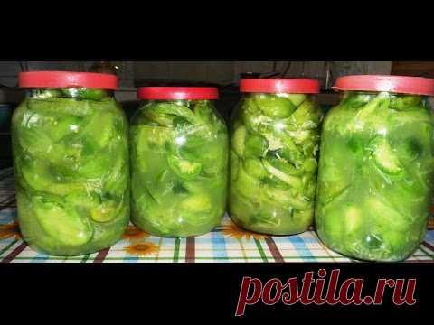Салат из зеленых помидоров и чеснока на зиму (+ВИДЕО) - Затейка.com.ua - рецепты вкусных десертов, уроки вязания схемы, народное прикладное творчество