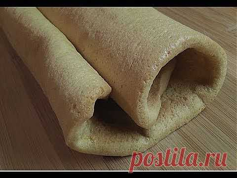 How to prepare a biscuit for rolls - YouTube
