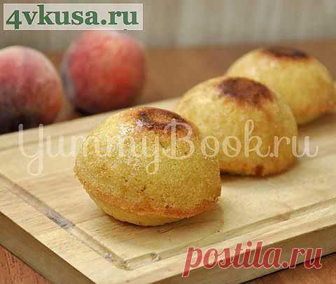 Кексы с персиками | 4vkusa.ru